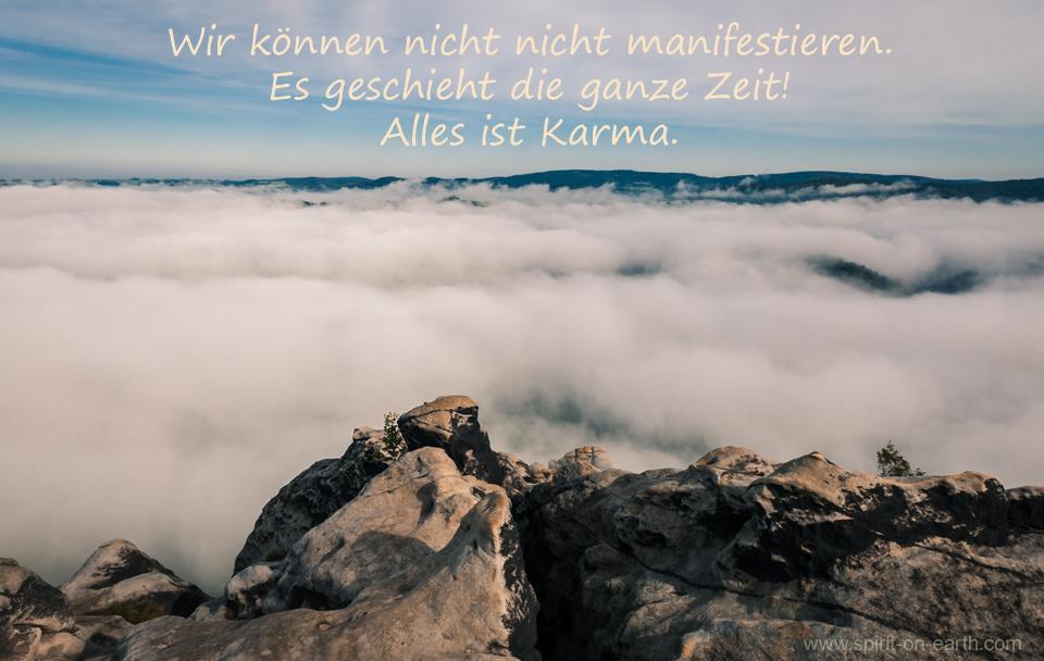 Manifestieren-Karma-Resonanz