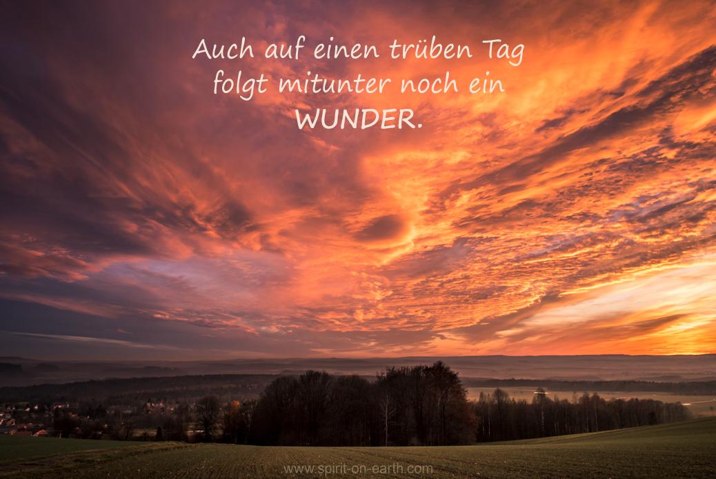 Sonnenuntergang Wunder