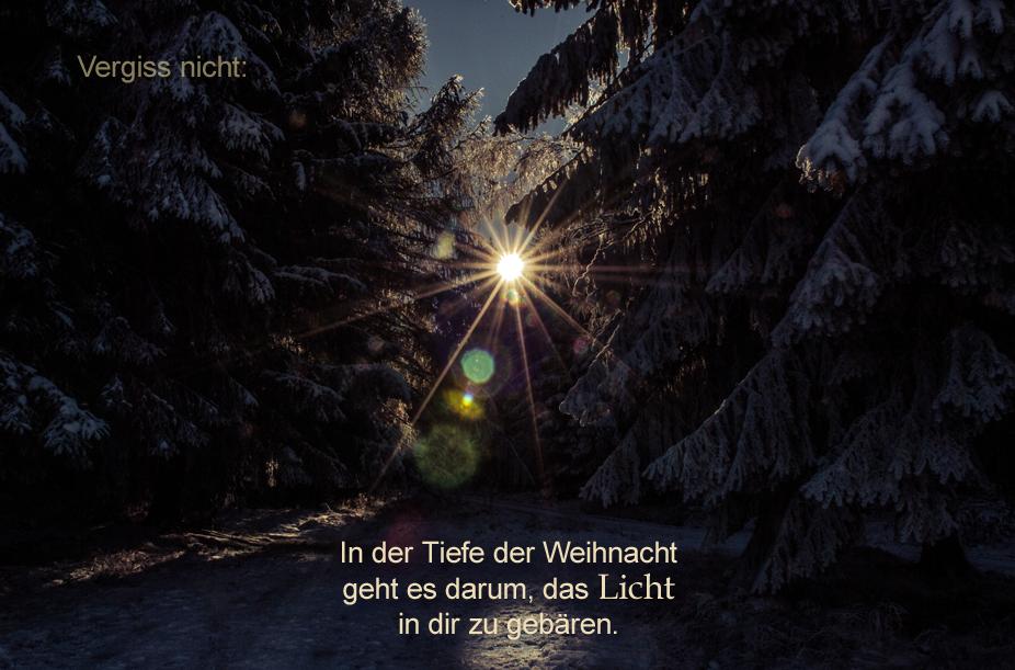 Weihnacht-Licht-Christus