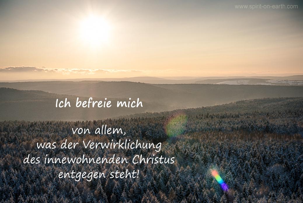 Befreiung der Christuskraft
