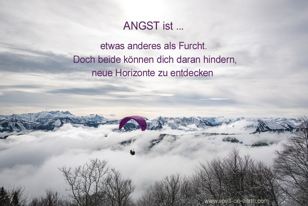 Angst ist...