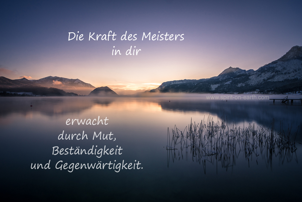 Meisterkraft - erwecke den Meister in dir
