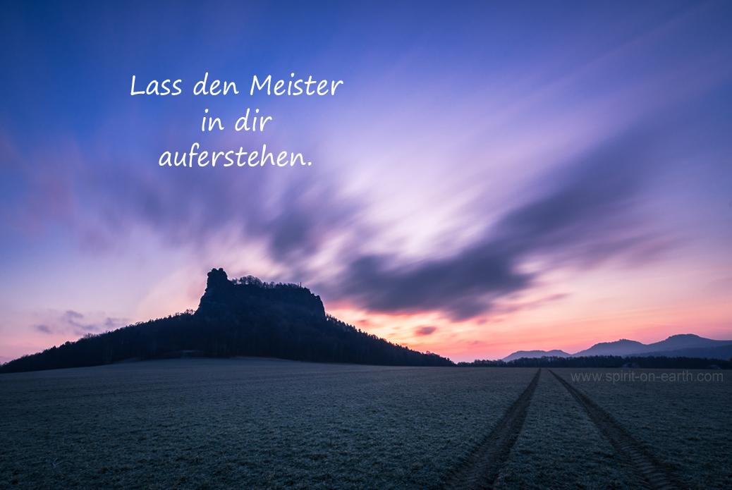 Du bist der Meister
