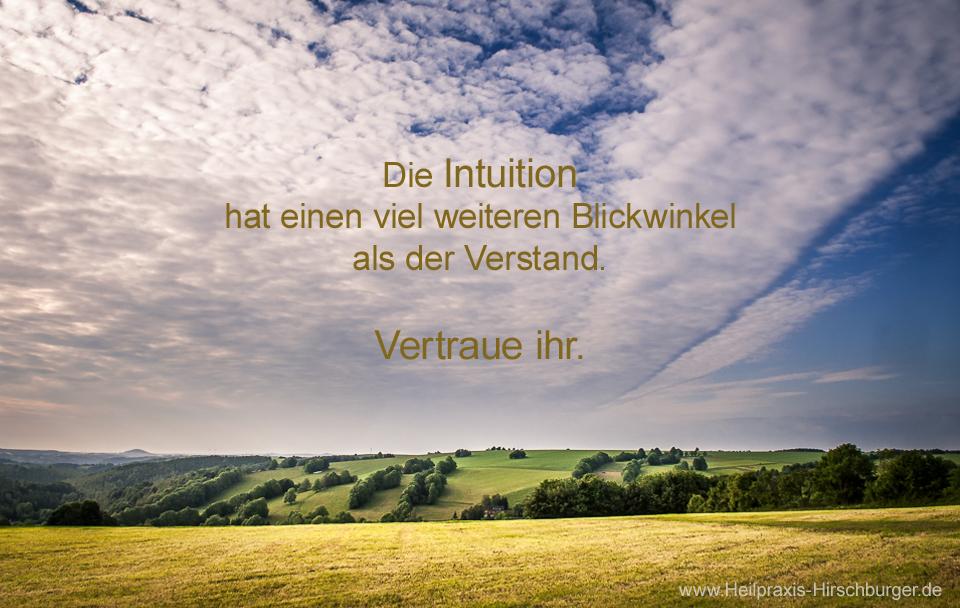 Herausforderung Intuition