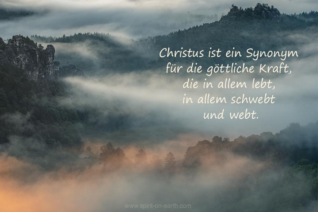Christus ist ein Heiler
