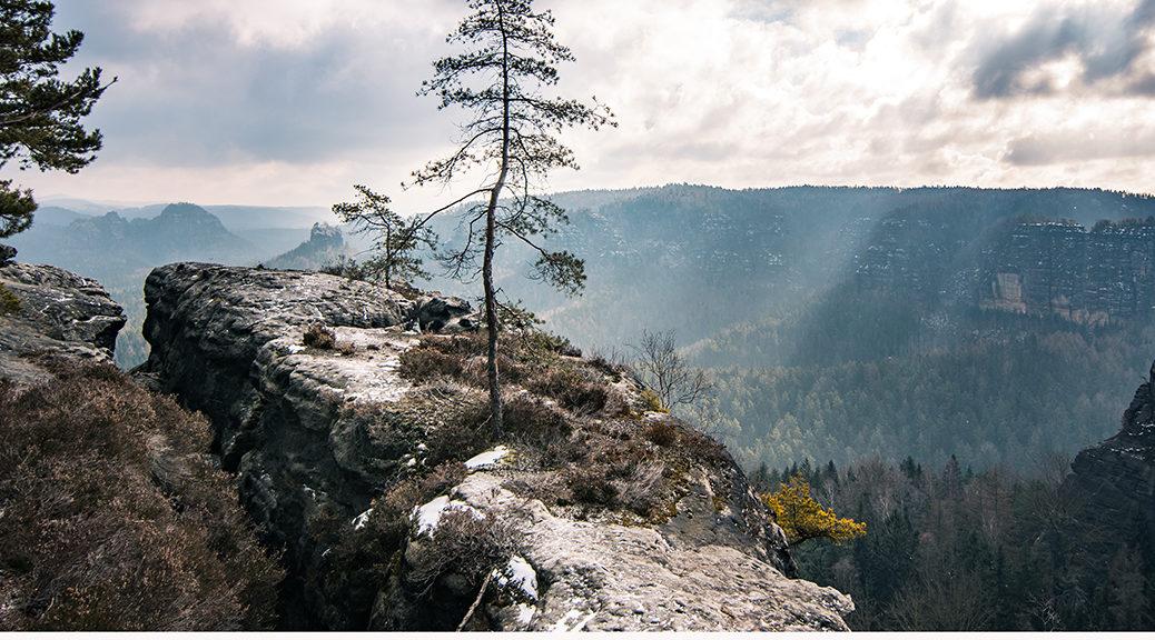 Kleiner Winterberg - Kalender 2019 Februar - Sächsische Schweiz