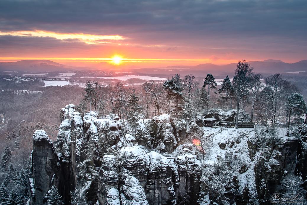 Kalender Sächsische Schweiz Bastei
