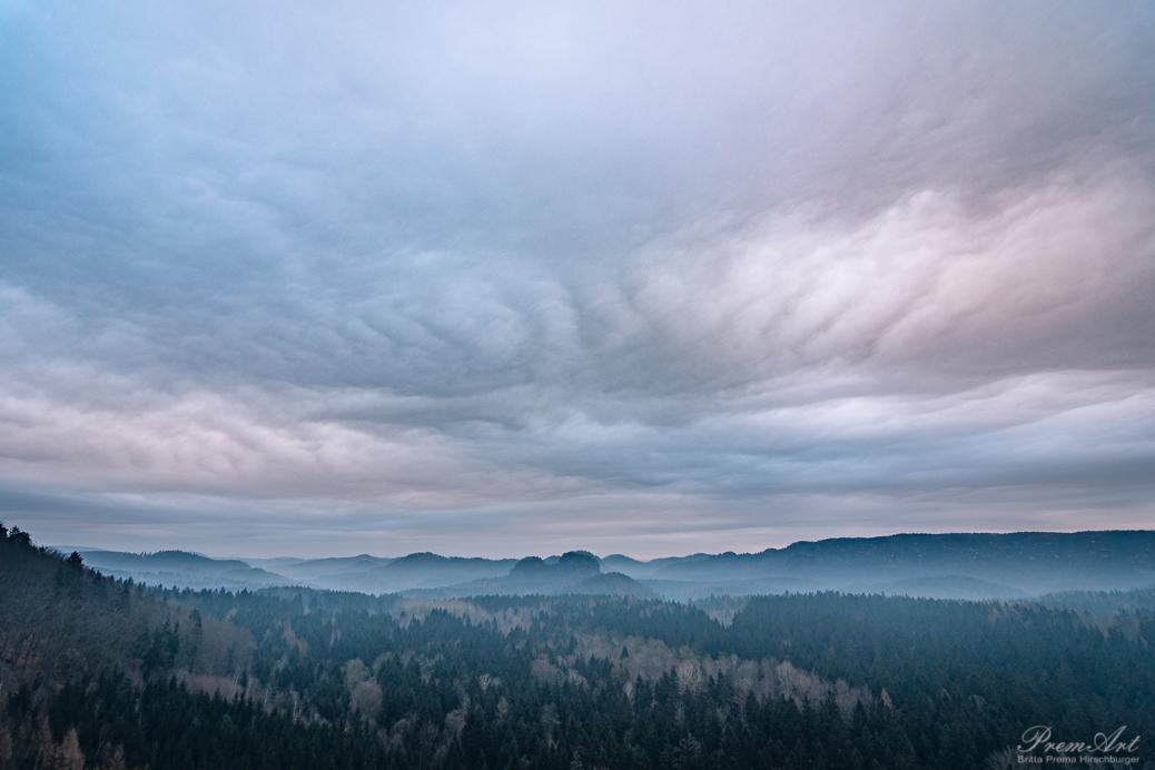 Wolken Sächsische Schweiz