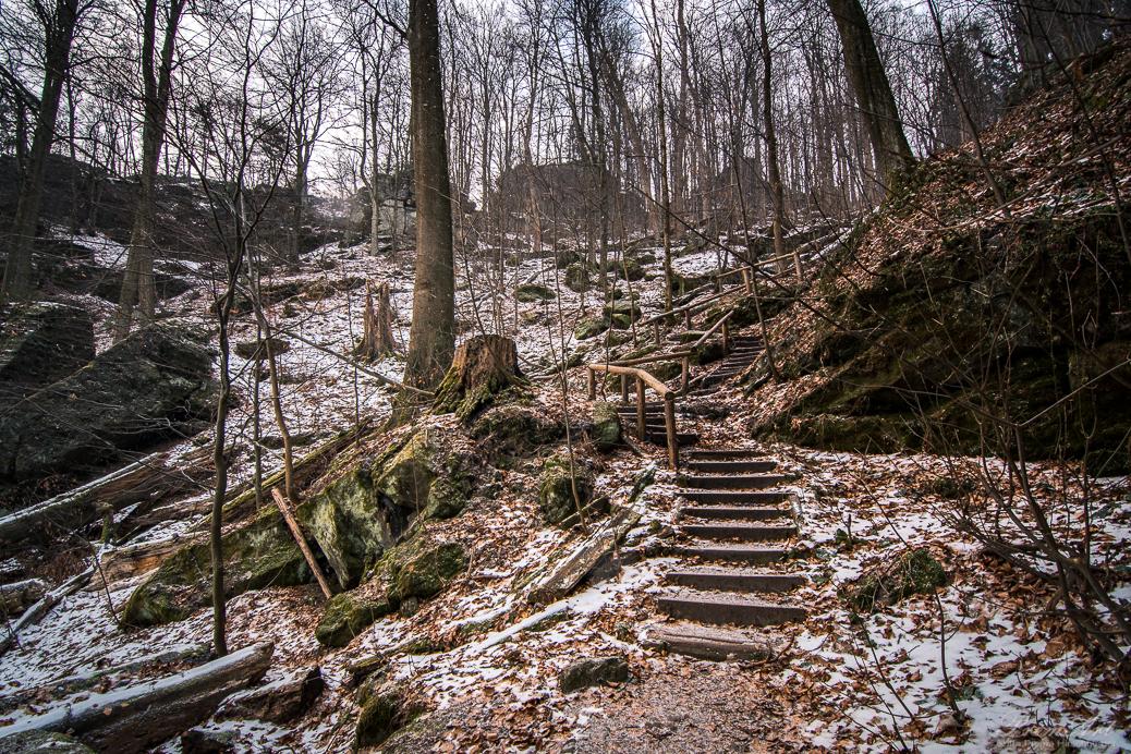 Aufstieg Kleiner Winterberg