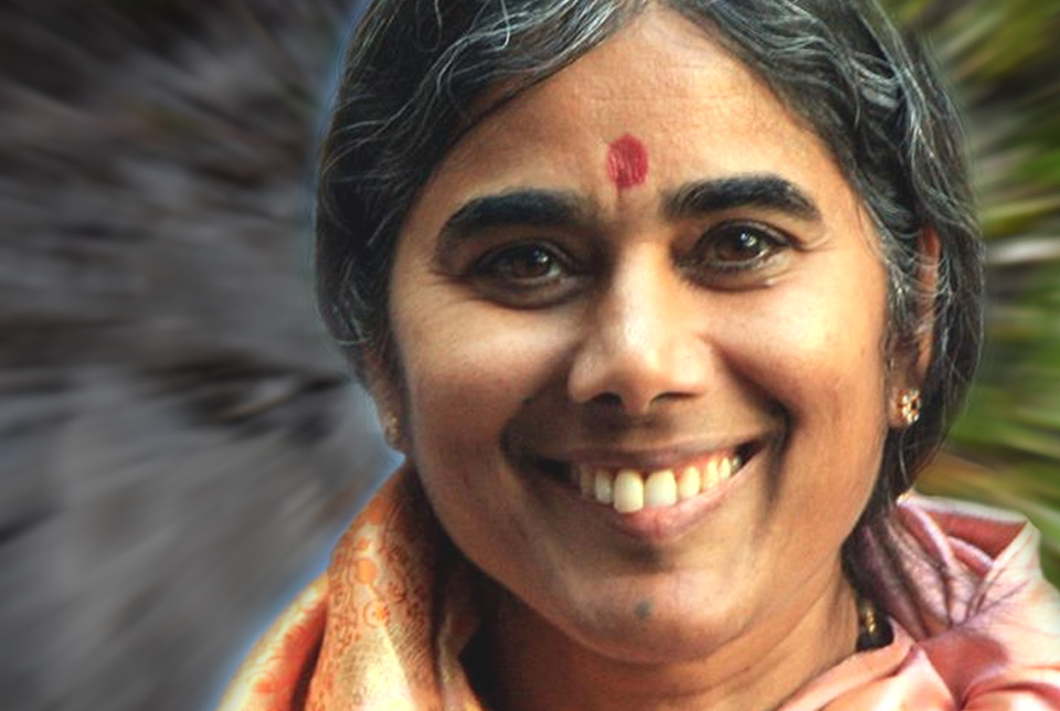 Mutter Meera Lächeln