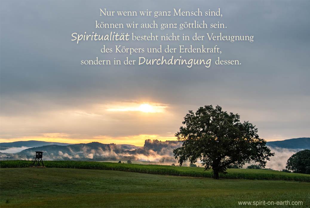 Wahre Spiritualität