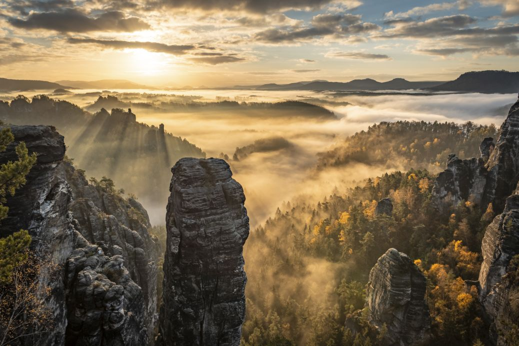 Fotografie Sächsische Schweiz Höllenhund