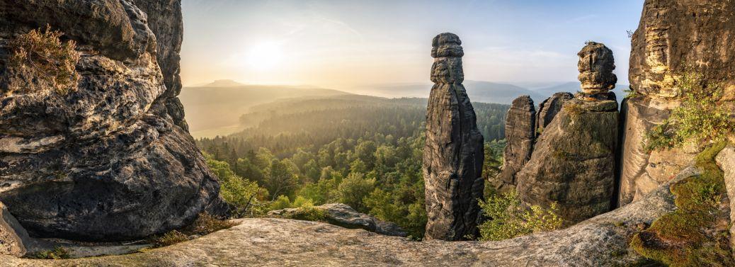 Fotografie Sächsische Schweiz Barbarine