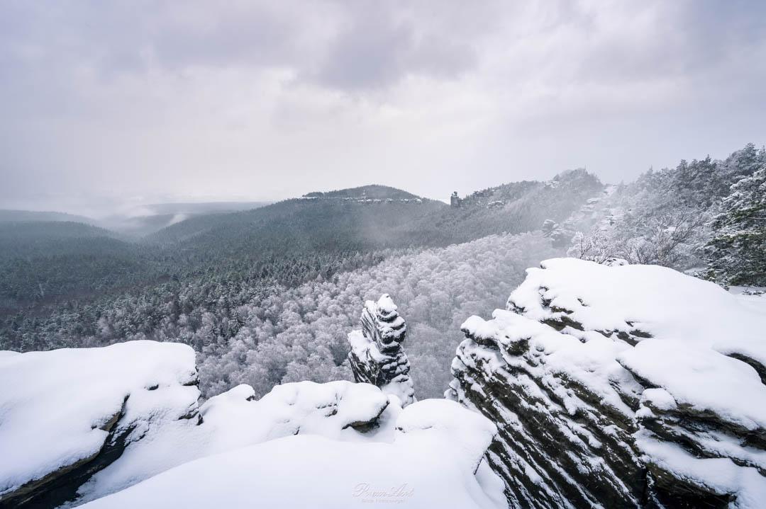 Winter Sächsische Schweiz Fotografie