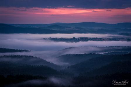 Blaue Stunde Sächsische Schweiz