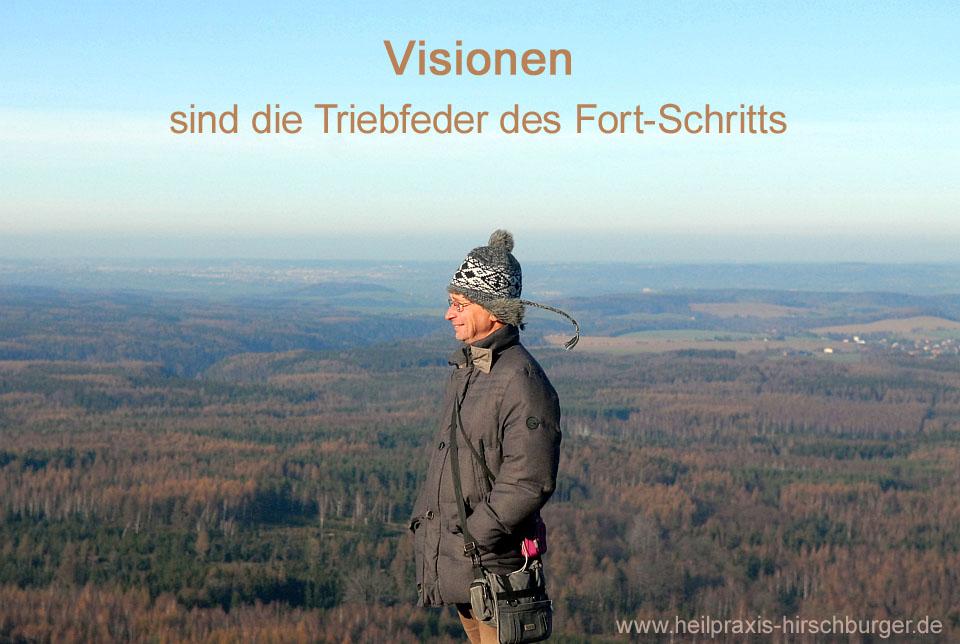 Leben ist Bewegung - Visionen sind nötig