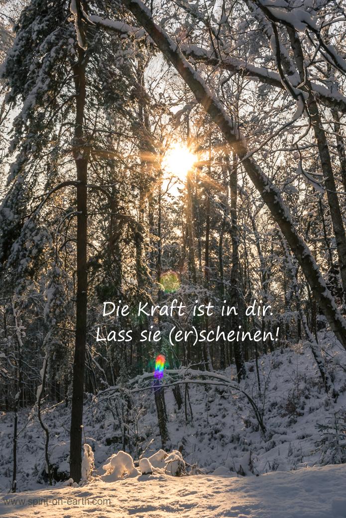 Christus-Kraft ist in dir