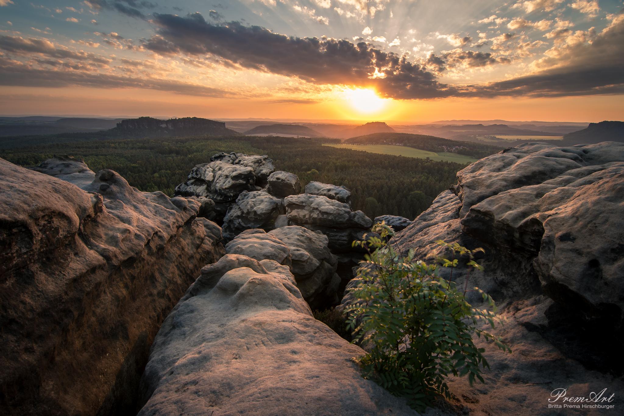 Sonnenuntergang Gohrisch