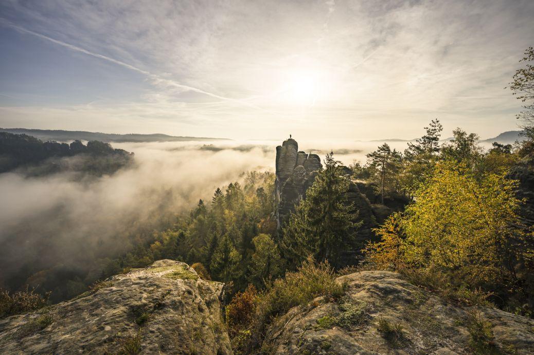 Fotografie Sächsische Schweiz Bastei Mönchsfelsen