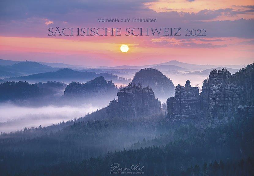 Kalender Sächsische Schweiz 2022 - Titel